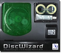 InterAct DiscWizard - Cleans, protects and repairs all of your compact discs!