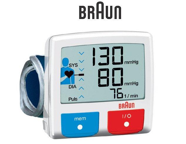 Braun BP2510 Wrist Blood Pressure Monitor