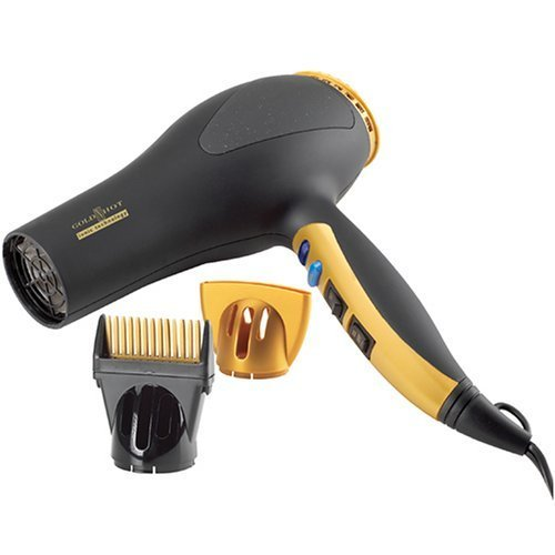 "Gold N Hot GH2252 1875 Watt Professional Turbo Boost ""Ionic"" Hair Dryer"