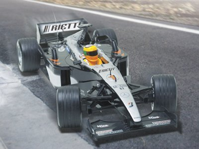 Rietti Radio-Controlled Scale Formula Racing Car
