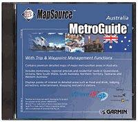 Garmin MapSource MetroGuide Australia