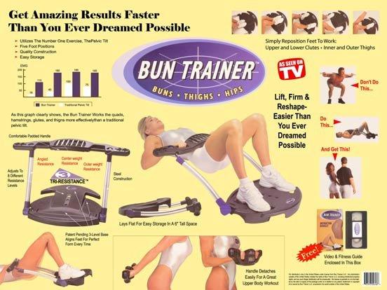 As Seen on TV - Bun Trainer