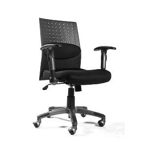 Leda Manager Mesh Office Chair (Black)