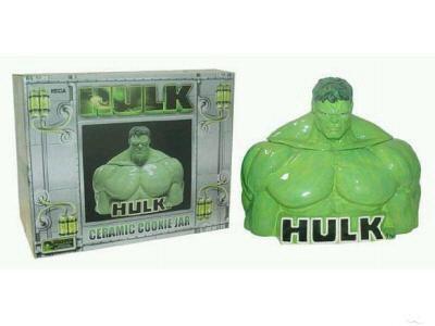 Incredible Hulk Ceramic Cookie Jar