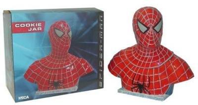 Spiderman Ceramic Cookie Jar