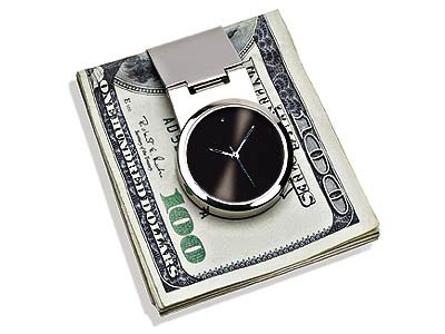 Steinhausen Stylish Silver Time N Money Clip