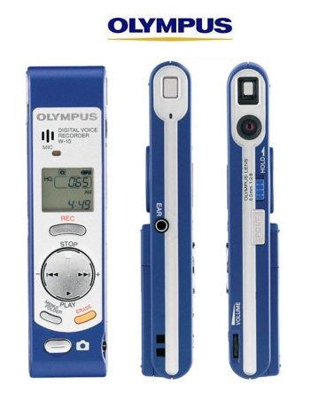 Olympus W-10 Digital Voice Recorder & Digital Camera