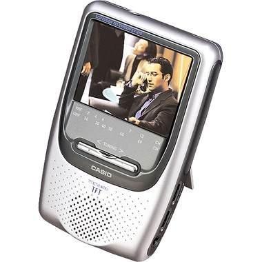"""Casio EV-680 3"""" TFT Active Screen Handheld Color Television"""