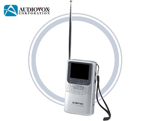 Audiovox TFT2500 2.5 Handheld TV With AC Adapter