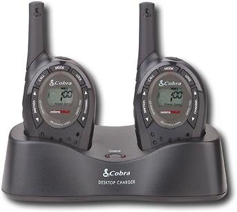 Cobra PR250-2WXV 8-Mile, 22-channel FRS/GMRS 2-Way Radios (Pair)