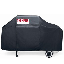"""Thermos 65"""" Grill Cover (Blue)"""