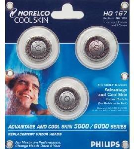 Norelco HQ167 Advantage/Cool Skin Head Set