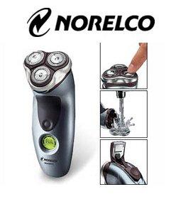 Norelco 7886XL Corded/Cordless Quadra Action Dry Razor Shaver