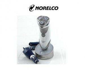 Norelco 8831 XL Spectra Action Razor James Bond Shaving System + Car Adapter
