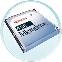 Hitachi 4GB MicroDrive Digital Media Drive