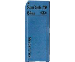 SANDISK SDMS-64R 64MB Memory Stick Media