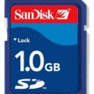 SanDisk 1 GB Secure Digital Memory Card