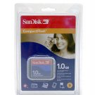 SanDisk 1GB Memory Compact Flash Card