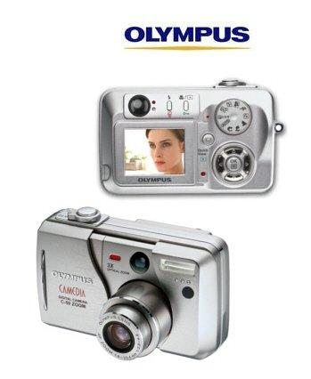Olympus C-50 Camedia 5.0 Megapixel Digital Camera 12xZoom