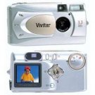 Vivitar Vivicam 3715 3.3 Mega Pixels Digital Camera With 4x Digital Zoom & 1.5-inch LCD