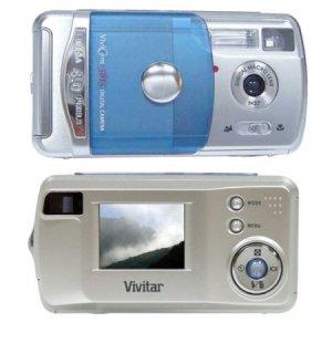 """Vivitar VIVICAM-3815 4.0 Megapixel Digital Camera with 1.4"""" LCD Screen"""
