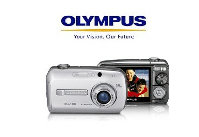 """Olympus STYLUS-800 - 8.0 MegaPixel Camera with 3x Optical Zoom and 2.5"""" HyperCrystal LCD"""