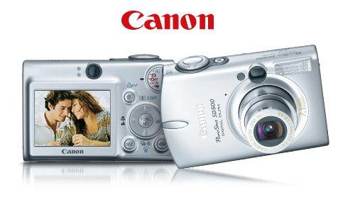 Canon PowerShot S500 - 5.0 MegaPixels Digital Camera with 3x Optical Zoom