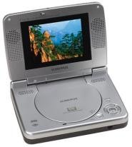 """Audiovox D1500A 5"""" Inch Portable DVD Player with Car Kit"""