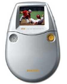 Samsung DVD-L25 Mni Portable Hand Held DVD Player + Bonus DVD Movie
