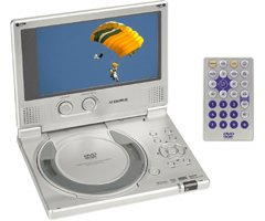 """Audiovox D-1710 7"""" Inch TFT/LCD Widescreen Portable Dvd Player"""
