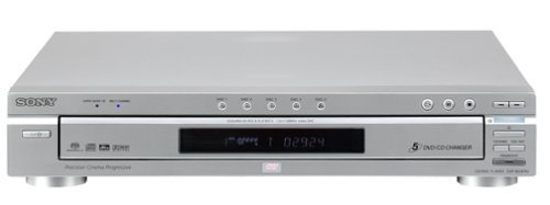 Sony DVP-NC875V/S 5-Disc DVD/CD/SACD Changer - Dolby Digital and DTS 5.1-channel
