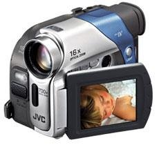 JVC GR-D33 Mini DV Camcorder, 16x Optical-700x Digital Zoom