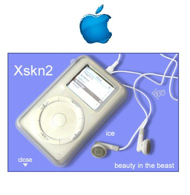 xSkn Ipod Protective Case (Ice)