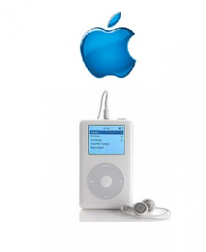 Apple 20GB iPod+HP MP3 Player With Click Wheel