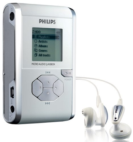 Philips HDD077 Micro Audio Jukebox 2 GB MP3 Player