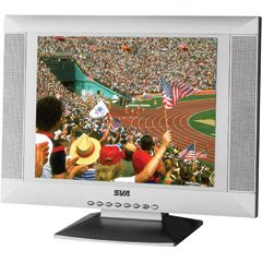 """SVA VR-20 20"""" Inch LCD Flat Panel TV with Speakers"""