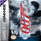James Bond 007: Everything or Nothing GBA