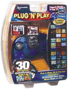 DREAMGEAR - DGUN-851 UNIVERSAL PLUG-N-PLAY CONTROLLER WITH 30 BUILT-IN GAMES