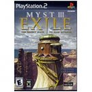 Ubi Soft Myst 3: Exile for Playstation 2