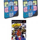 Two Datel Wireless Dance Pads Combo for Playstation 2
