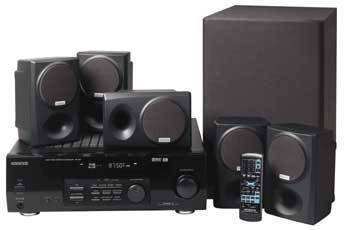 Kenwood HTB-204 - 500 Watts 5.1 Channel Home Theater Audio System