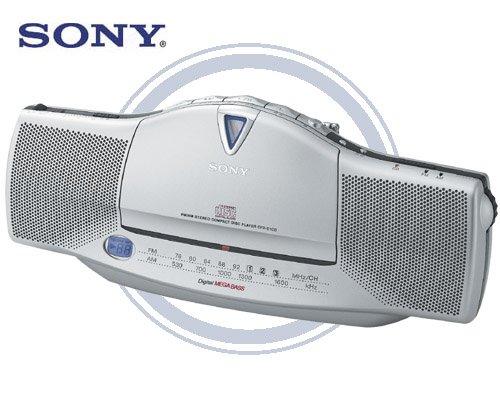 Sony CFD-E10 Slim-Line Portable AM/FM CD Boombox