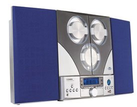 Fisher Slim 2000 AM/FM/3 CD Slim Design Shelf System