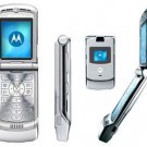 Motorola RAZR V3 Quad-Band Slim Cellular Mobile Phone (Unlocked)