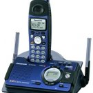 Panasonic KX-TG5438S 5.8 GHz FHSS GigaRange Shock/Splash Resistant Phone System with Answering Syste