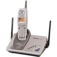 Panasonic KXTG5200  5.8 GHz GigaRange Expandable Cordless Phone System w/ Call Waiting Caller ID & 4