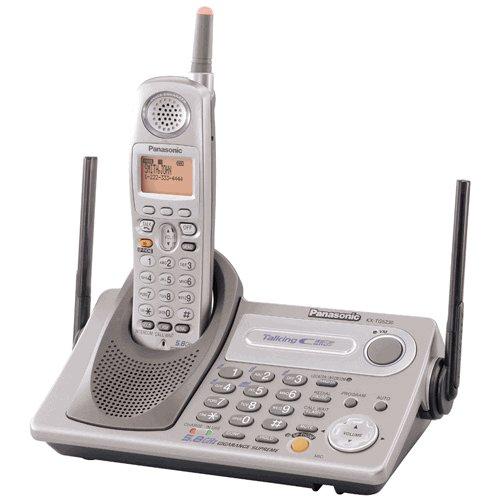 Panasonic KXTG5230  5.8 GHz FHSS GigaRanger Supreme Expandable Digital Cordless Phone System w/ Talk