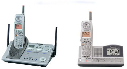 Panasonic KX-TG5212PK2 - 5.8 GHz DSS Expandable Cordless Phone with Dual Handsets and Answering Syst