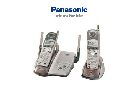 Panasonic KX-TG5422 5.8GHz Digital Dual Cordless Telephone System