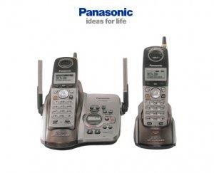 PANASONIC KX-TG5432 5.8GHz Digital Dual Cordless Telephone System